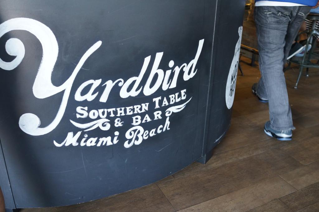 Sunday Funday.  Brunch at Yardbird