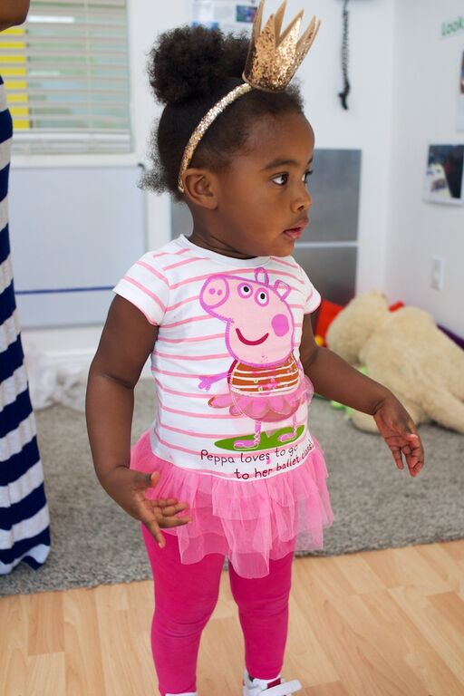 Peppa Pig girl tutu shirt