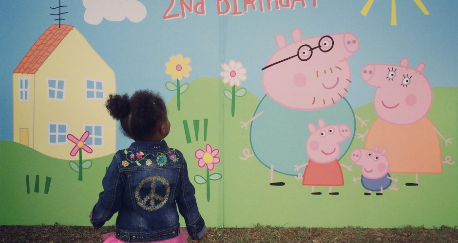 I'M PEPPA PIG! OINK….BOBBI TURNS TWO!