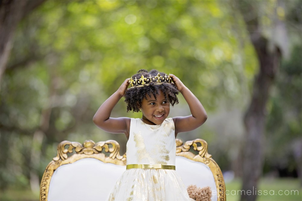 "Bobbi Elle ""Queen Bee"" 3rd birthday Photo Shoot"