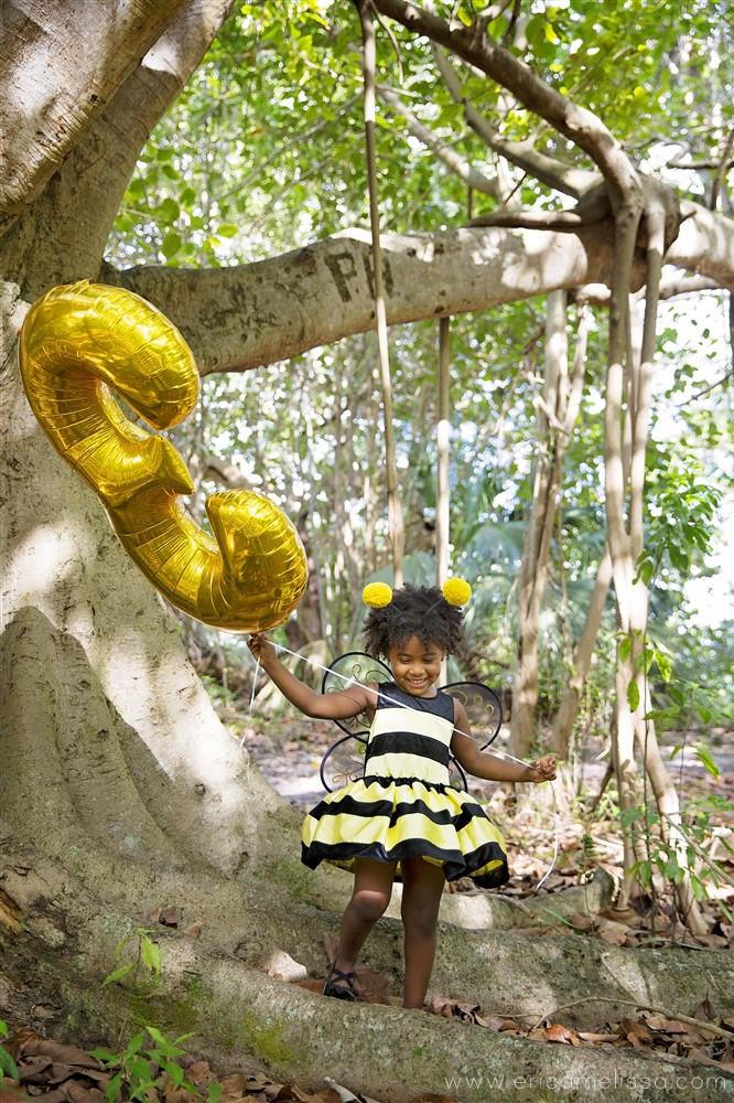 Bobbi Elle Bumble Bee 3rd Birthday Photo Shoot