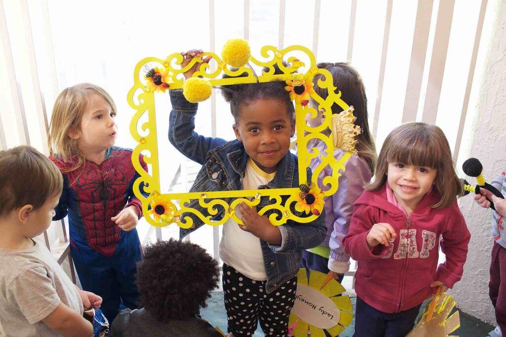 bumble bee birthday school party