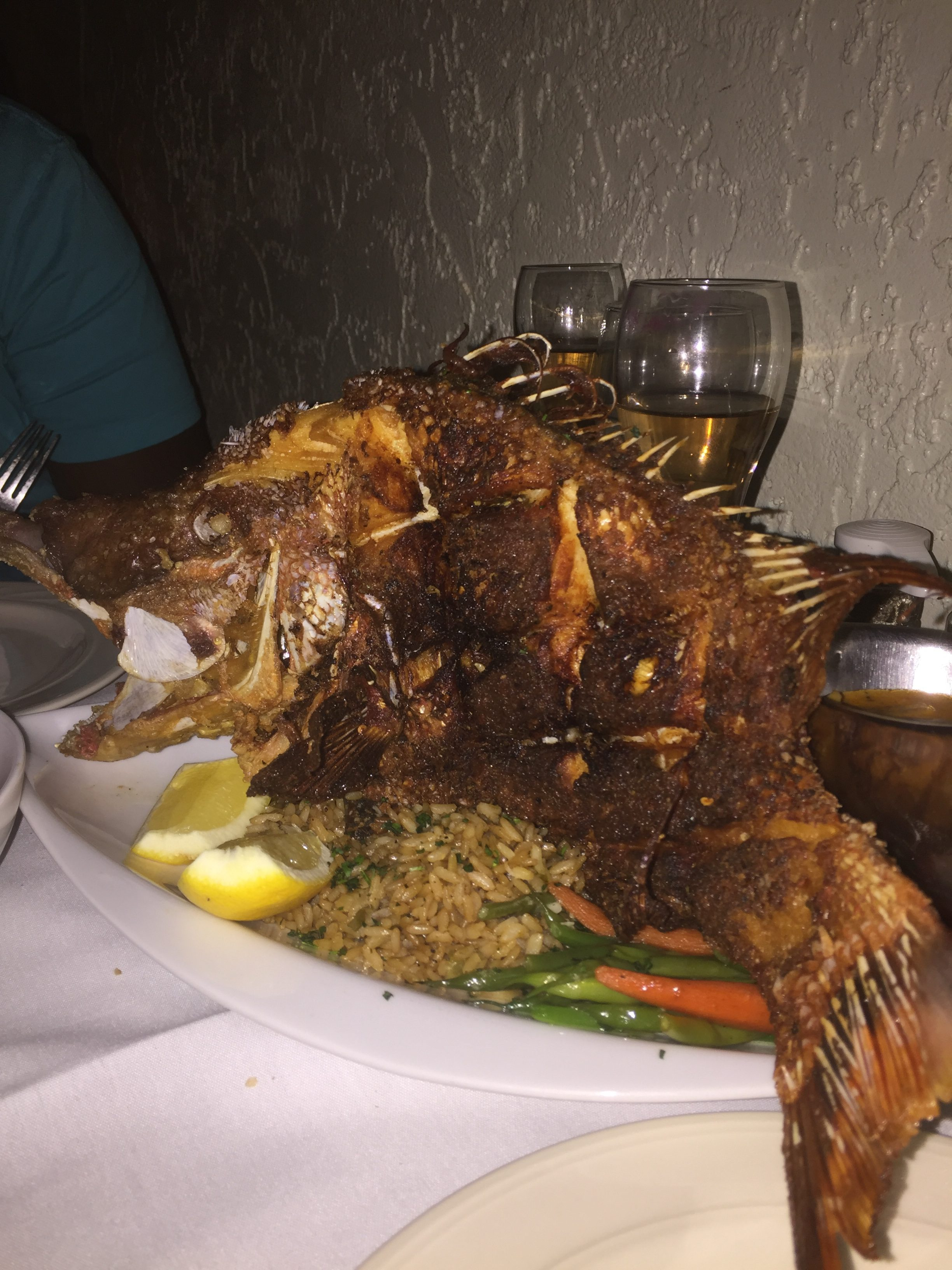 Hogfish; Chef Michael's; Islamorada; Florida Keys