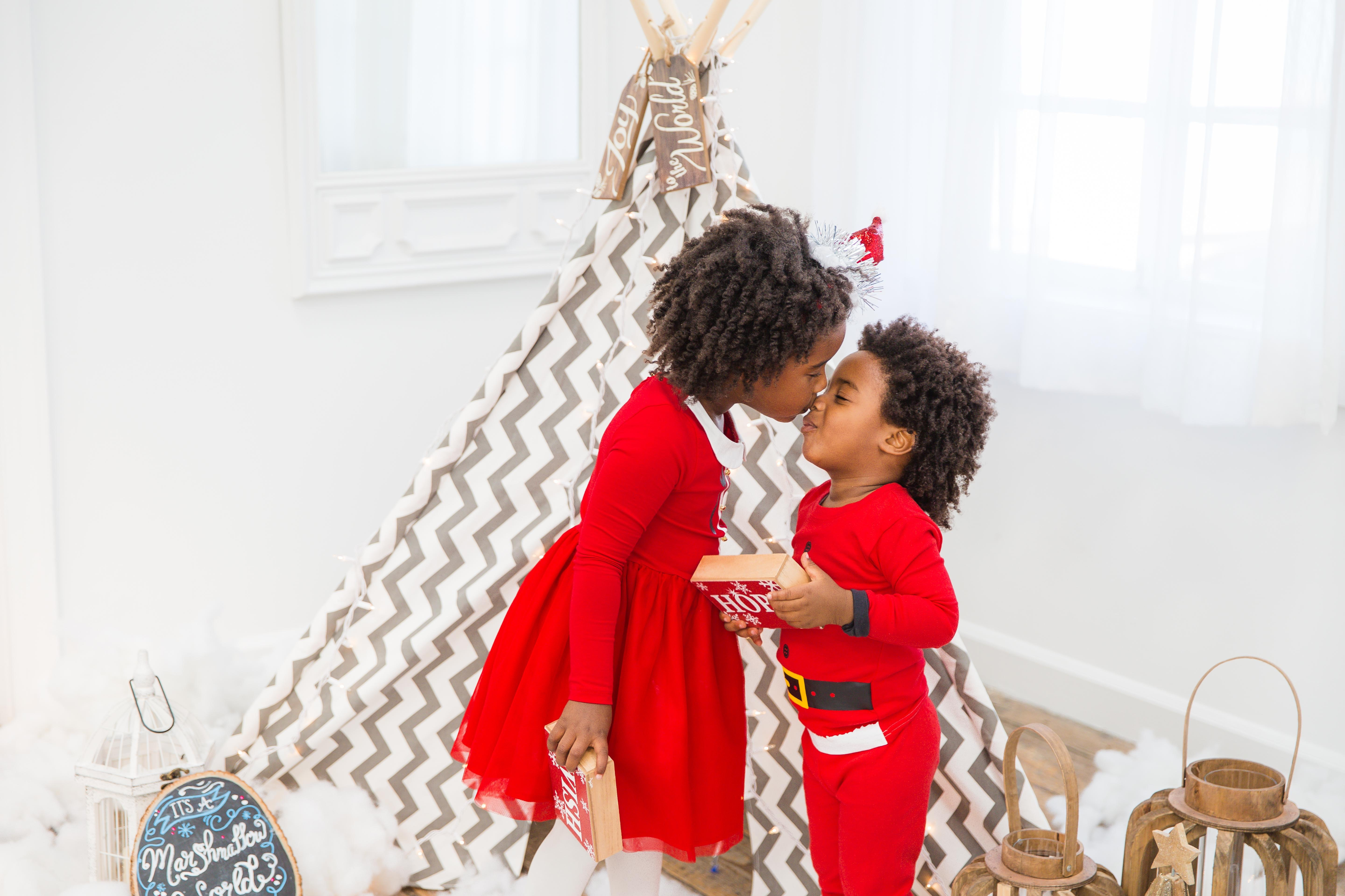 one balanced mama family christmas shoot