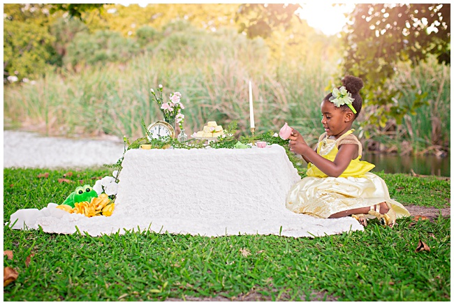PHOTO SHOOT FIT FOR A PRINCESS; BOBBI TURNS 4