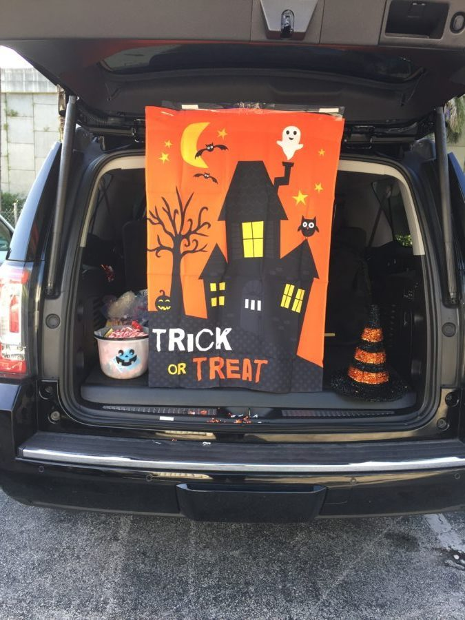 one balanced mama; trunk or treat