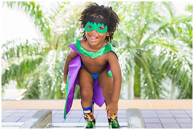 Super hero Photo Shoot; One Balanced Mama Blog
