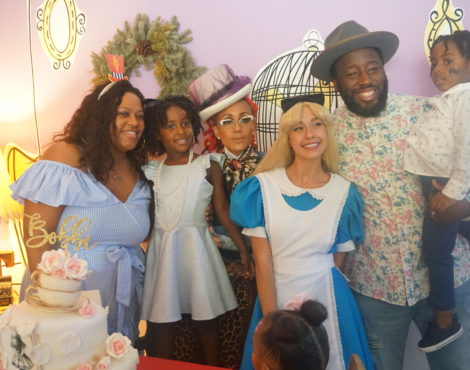 BOBBI ELLE'S MAD HATTER TEA PARTY!